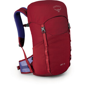 Osprey Jet 18 Rucksack Kinder cosmic red